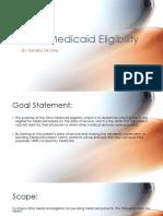 final practicum project presentation-ohio medicaid eligibility