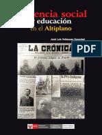Violencia Social y Educación en El Altiplano - Jlvg