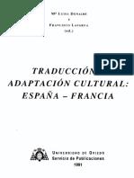 Traducción y adaptación cultural:
