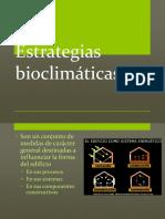 10. Estrategias bioclimáticas