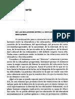 Para Educadores Paulo Freire Cartas a Quien Pretende Ensenar 2002 cap 6 y 7