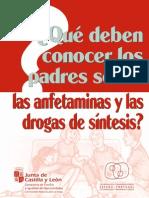 Que deben conocer los padres sobre las anfetaminas y las drogas de síntesis[1]