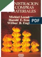 Libro Administración de Compras y Materiales Por Michiel Leenders