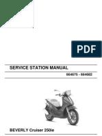 Piaggio Beverly Cruiser 250 Ie Workshop Manual