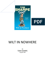 Wilt in Nowhere - Tom Sharpe