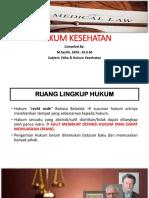 HUKUM KESEHATAN- Ganjil 2018.pptx