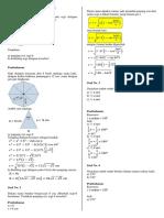Soal Trigonometri & Fungsi Komposisi