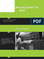 Expresiones Regulares en Unix
