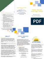 community resource brochure - sk