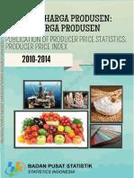 BPS - Indeks Harga Produsen Indonesia 2010-2014