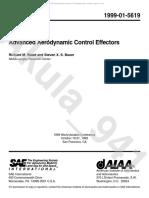 Advanced Aerodynamic Control Effectors
