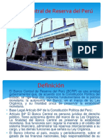 Diapositiva de Banco Central de Reserva