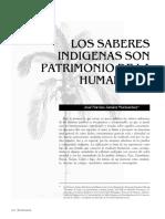 Muchavisoy, JNJ. - Los Saberes Indígenas Son Patrimonio de La Humanidad