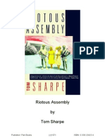 Riotous Assembly - Tom Sharpe