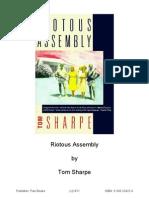 Riotous Assembly - Tom Sharpe