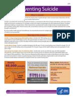 Suicide Factsheet - CDC