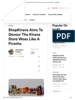 ShopKirana Aims to Devour the Kirana Store Woes Like a Piranha - Inc42 Media