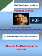 Mecanismos de Defensa psicología aplicada al derecho