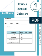Diciembre - 1er Grado - Examen Mensual (2018-2019).docx