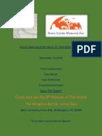 memorial zoo