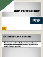 WORKSHOP TECHNOLOGY (1_safety in Machine Shop)