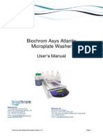 Biochrom Microplate-washers Atlantis Manual
