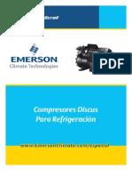 Emerson, Comp Re Sores Discus Para Refrigeracion(Datos de Rendimiento