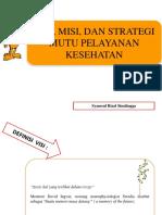 3 Visi, Misi, Dan Strategi Pelayanan Kesehatan