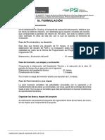 III. Formulacion y Evaluacion