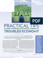 Dec09 Practical Tips Troubled Economy
