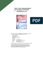 Haccp Scarm Report 60