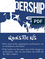 Chapter 12 - Leadership