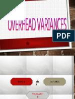 Overhead variance