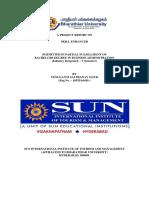 Sem 5 Project Internship