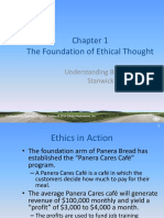 Chapter 1 The Foundation of Ethical Thought