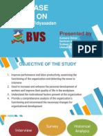 HRM Case study - Brihaspati Vidya Sadan