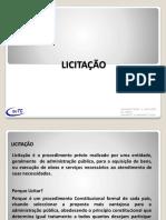 LICITACAO - 2018