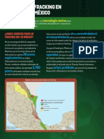 Fracking en México. Hoja Informativa
