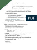 Semi-Delailed Lesson Plan in AP 5