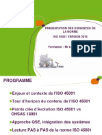 ISO45001 Version 2018