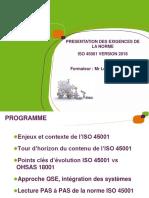 ISO45001 Version 2018