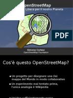 Cortesi - Cosa è OpenStreetMap