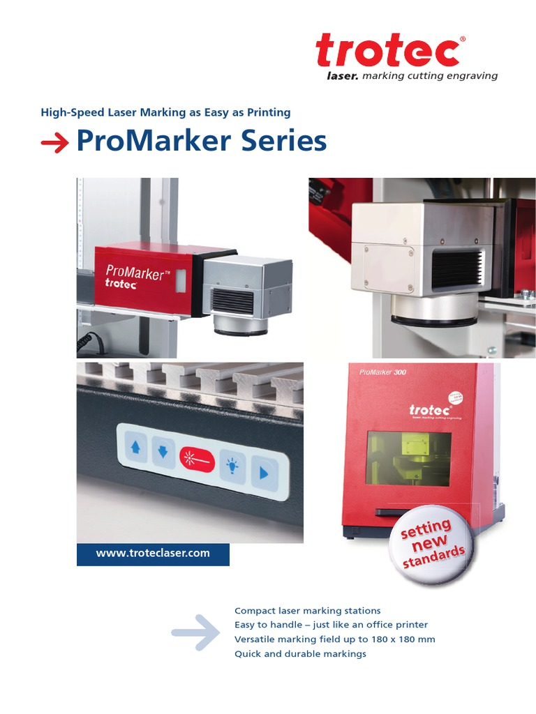 ProMarker Series TEC-En | Laser | Printer (Computing)