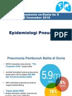 1.Epidemiologi Pneumonia