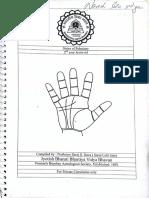 Palmistry Notes by Mrs. Saroj Dave