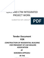 Qsce and Ctm Integrated Project Work Rev 2