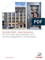 Schindler 6200 Elevator Mod Brochure