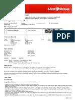 Lion Air ETicket (MLZDLL) - Darmono