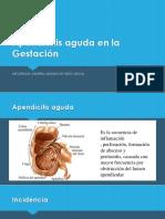 Apendicitis Aguda en La Gestación