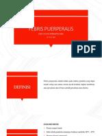 Sepsis Puerperalis